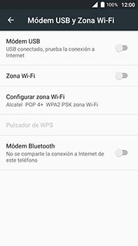 Comparte la conexión de datos con una PC - Alcatel POP 4 Plus - 5056 - Passo 7