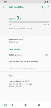 Desactiva tu conexión de datos - Motorola Moto G8 Plus (Dual SIM) - Passo 7