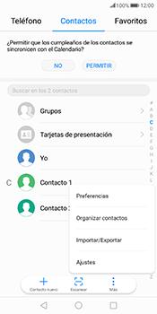 ¿Tu equipo puede copiar contactos a la SIM card? - Huawei Mate 10 Pro - Passo 4