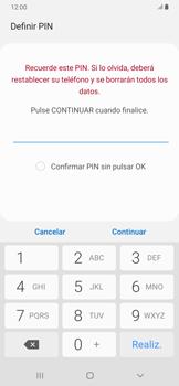 Habilitar seguridad de huella digital - Samsung Galaxy A30 - Passo 8