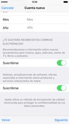Crea una cuenta - Apple iPhone 6s - Passo 16