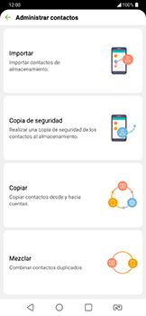 ¿Tu equipo puede copiar contactos a la SIM card? - LG G7 Fit - Passo 7
