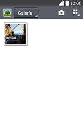 Transferir fotos vía Bluetooth - LG L40 - Passo 4