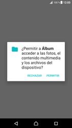Transferir fotos vía Bluetooth - Sony Xperia XZ Premium - Passo 4
