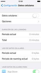Desactiva tu conexión de datos - Apple iPhone SE - Passo 4
