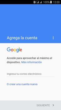 Crea una cuenta - Samsung Galaxy J7 - J700 - Passo 3