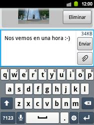 Envía fotos, videos y audio por mensaje de texto - Samsung Galaxy Y  GT - S5360 - Passo 15