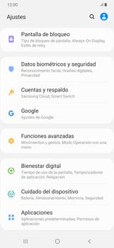 Realiza una copia de seguridad con tu cuenta - Samsung Galaxy A50 - Passo 4