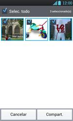 Transferir fotos vía Bluetooth - LG Optimus L7 - Passo 7