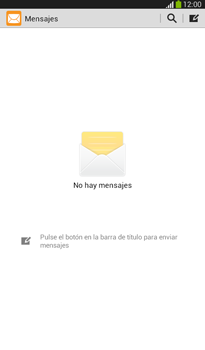 Envía fotos, videos y audio por mensaje de texto - Samsung Galaxy Tab 3 7.0 - Passo 3