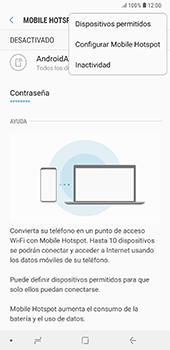 Configura el hotspot móvil - Samsung A7 2018 - Passo 8