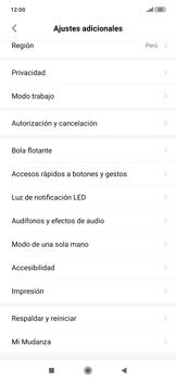 Restaura la configuración de fábrica - Xiaomi Redmi Note 7 - Passo 4