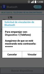 Conecta con otro dispositivo Bluetooth - LG L70 - Passo 8