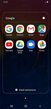 Uso de la navegación GPS - Samsung Galaxy A10 - Passo 4