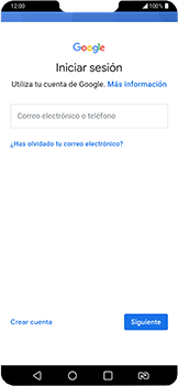Crea una cuenta - LG G7 Fit - Passo 3