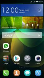 Configuración de Whatsapp - Huawei G Play Mini - Passo 2