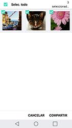 Transferir fotos vía Bluetooth - LG G5 SE - Passo 7