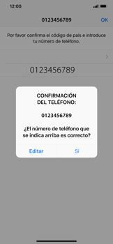 Configuración de Whatsapp - Apple iPhone XS Max - Passo 9