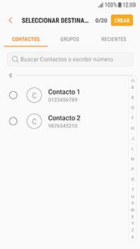Envía fotos, videos y audio por mensaje de texto - Samsung Galaxy J7 Prime - Passo 4