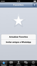 Configuración de Whatsapp - Apple iPhone 5c - Passo 13