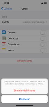 Desactivar la sincronización automática - Apple iPhone X - Passo 8