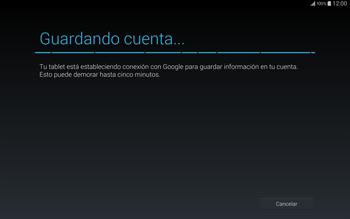 Crea una cuenta - Samsung Galaxy Note Pro - Passo 15