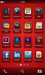 Actualiza el software del equipo - BlackBerry Z10 - Passo 1