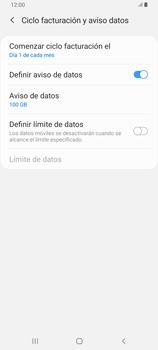 Desactivación límite de datos móviles - Samsung Galaxy A80 - Passo 8