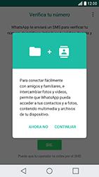 Configuración de Whatsapp - LG X Cam - Passo 5
