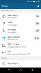 Configura el Internet - HTC One M9 - Passo 4