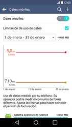 Desactivación límite de datos móviles - LG K10 - Passo 5