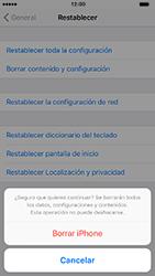 Restaura la configuración de fábrica - Apple iPhone 7 - Passo 7
