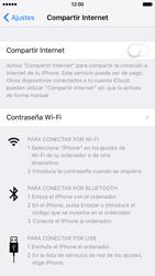 Configura el hotspot móvil - Apple iPhone 6 - Passo 6