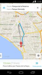 Uso de la navegación GPS - Motorola Moto G - Passo 18