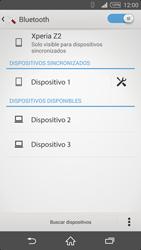 Conecta con otro dispositivo Bluetooth - Sony Xperia Z2 D6503 - Passo 8