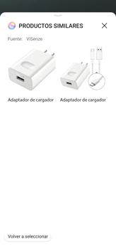 Cómo obtener informaciones con AI Lens - Huawei P40 Lite - Passo 12