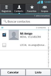 Envía fotos, videos y audio por mensaje de texto - LG L4 II - Passo 6