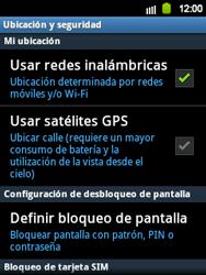 Uso de la navegación GPS - Samsung Galaxy Y  GT - S5360 - Passo 8