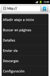 Configura el Internet - Samsung Galaxy Ace  GT - S5830 - Passo 22