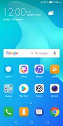 Bloqueo de la pantalla - Huawei Y5 2018 - Passo 1