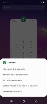 Cómo ver dos aplicaciones a la vez en pantalla - Samsung Galaxy S10 Lite - Passo 4