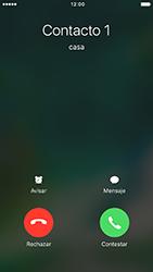 Contesta, rechaza o silencia una llamada - Apple iPhone 7 - Passo 4