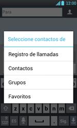 Envía fotos, videos y audio por mensaje de texto - LG Optimus L7 - Passo 5