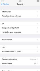Actualiza el software del equipo - Apple iPhone 6 - Passo 5