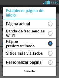Configura el Internet - LG Optimus L3 II - Passo 23