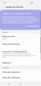 Configura el Internet - Samsung S10+ - Passo 25