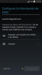 Crea una cuenta - Samsung Galaxy Alpha - G850 - Passo 19