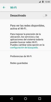 Configura el WiFi - Motorola Moto E5 - Passo 6
