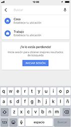 Uso de la navegación GPS - Apple iPhone 7 - Passo 6