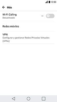 Configura el Internet - LG V20 - Passo 4